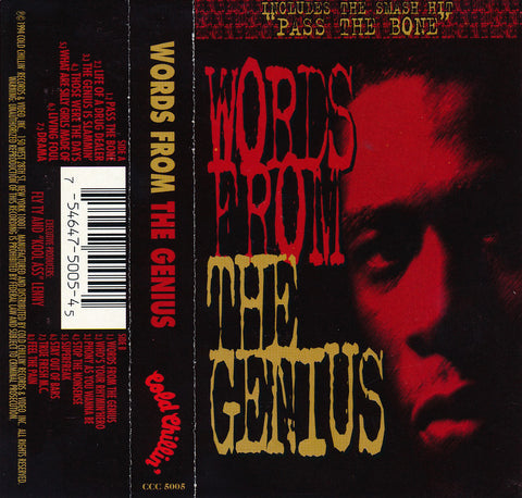 The Genius ‎– Words From The Genius