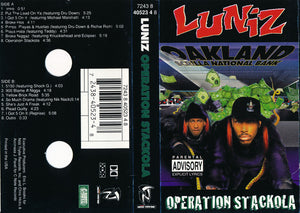Luniz ‎– Operation Stackola