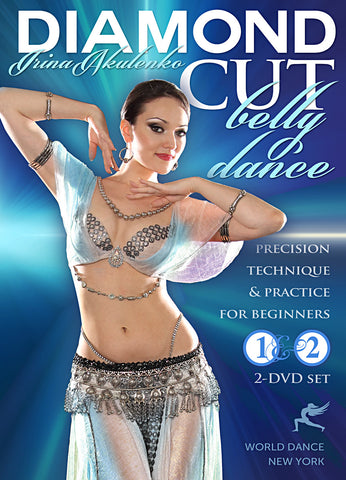 """Diamond Cut Belly Dance for Beginners"" DVD, Irina Akulenko"