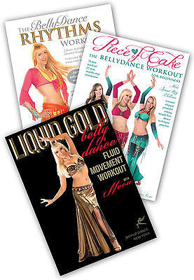 3-DVD, Belly Dance Workout: Neon's Format #2 Instructional DVDs- World Dance NY