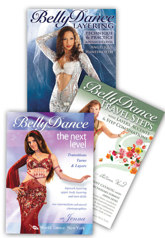 Advanced Belly Dance DVD 3-DVD set
