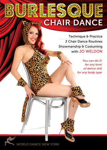 """Burlesque Chair Dance: Technique & Choreography"" DVD, Jo Weldon"