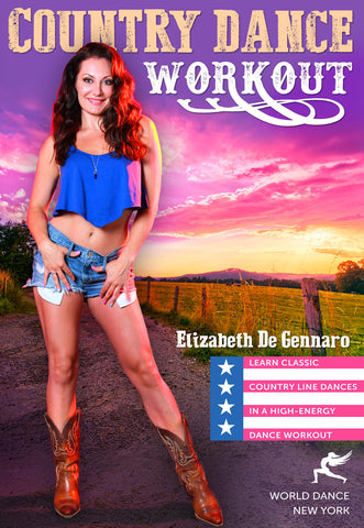 """Country Dance Workout"" DVD with Elizabeth De Gennaro"