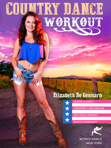 country dance workout, country line dancing moves step-by-step, video workout