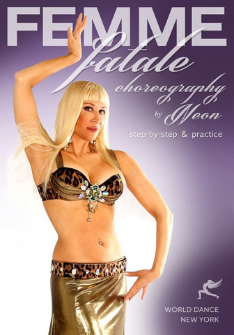 Femme Fatale Belly Dance Choreography, by Neon - advanced instruction