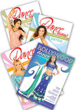 4-DVD lot, Beginner Dance Sampler Instructional DVDs from World Dance New York