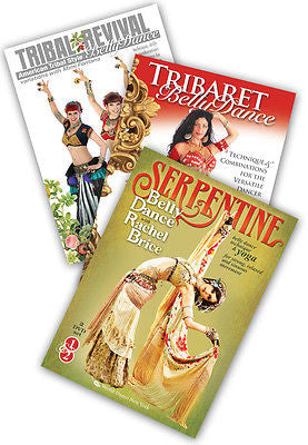 3-DVD lot, Tribal & Derivative Styles Instructional DVDs from World Dance NY