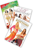 3-DVD lot, Special Subject Belly Dance Workout DVDs from World Dance New York