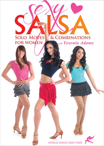 """Sexy Salsa!  Solo Moves & Combinations for Women"" DVD"