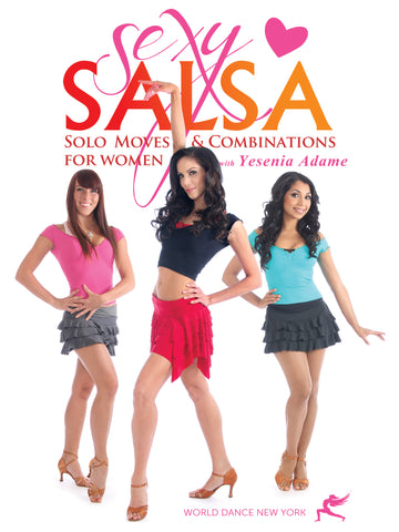 Sexy salsa dancing solo routines and moves for women step-by-step and prqactice - instant video class