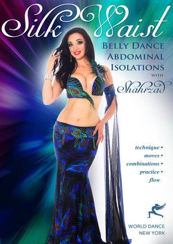 """Silk Waist: Belly Dance Abdominal Isolations"" DVD with Shahrzad"