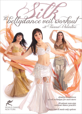 """Silk - The Belly Dance Veil Workout"" DVD with Tanna Valentine"