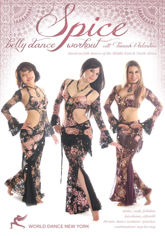 """Spice - The Belly Dance Workout"" DVD with Tanna Valentine"