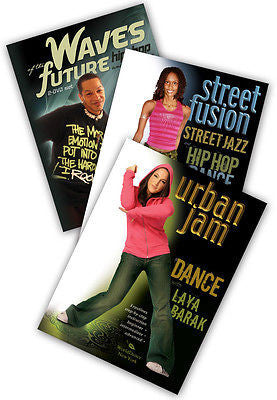 3-DVD lot, Hip-Hop: Street & Music Video Styles DVDs from World Dance New York