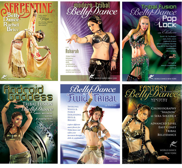 Tribal Fusion Belly Dance Intermediate-Advanced Streaming Video Bunch 1 Year Rental