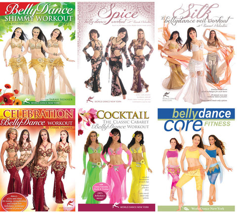 Belly Dance Workouts Streaming Video Bunch 1 Year Rental