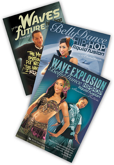 Belly Dance & Hip-Hop 3-DVD video set