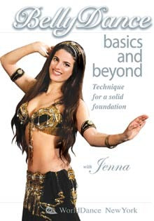Belly Dance Basics and Beyond for Total Beginners, with Jenna