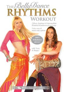 """The Belly Dance Rhythms Workout"" DVD with Neon"