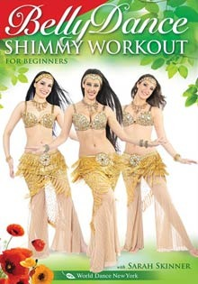 """The Belly Dance Shimmy Workout"" DVD - Open Level with Sarah Skinner"