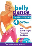 Belly Dance for Body Sculpting Workouts 4-DVD set