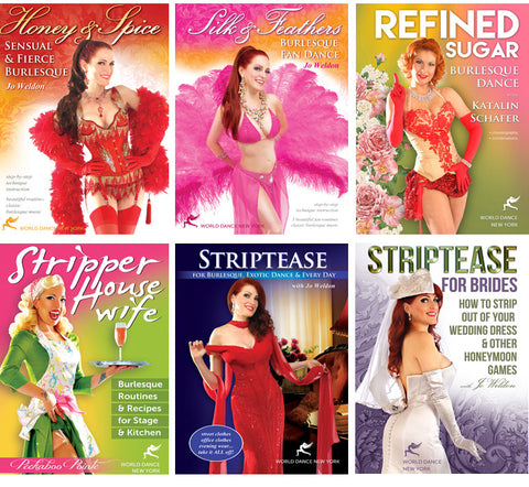 Burlesque & Striptease: Dance & Showmanship Streaming Video Bunch 1 Year Rental