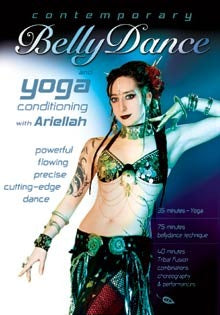 """Contemporary Belly Dance & Yoga"" with Ariellah - Tribal Fusion DVD"