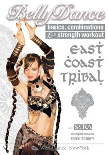 """East Coast Tribal Belly Dance"" DVD with Sera Solstice"