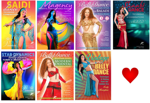 Egyptian Belly Dance Intermediate-Advanced Streaming Video Bunch 1 Year Rental