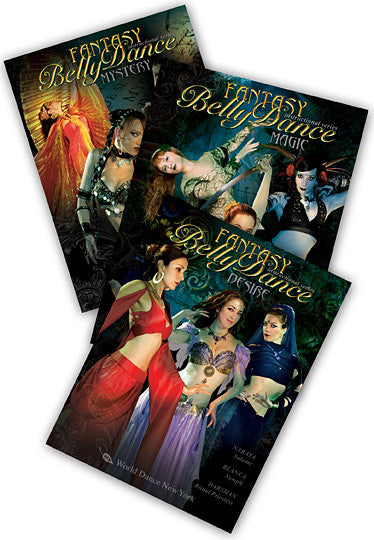 Intermediate-Advanced Belly Dance Choreography 3-DVD Set