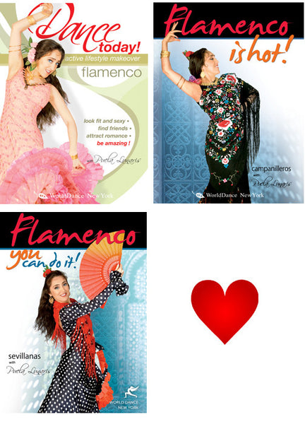 Flamenco Dance Streaming Video Bunch 1 Year Rental