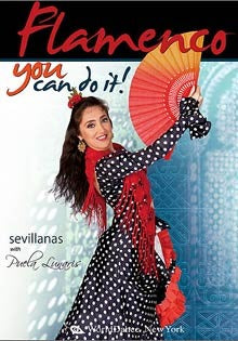 """Flamenco: You Can Do It!  Sevillanas & Fan Dance"" DVD"