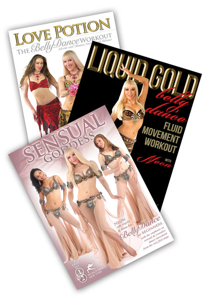 Bellydance: Fluid & Sensual - 3-DVD Belly Dance Set