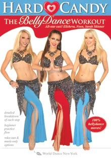"""Hard Candy The Belly Dance Workout with Neon"" DVD"