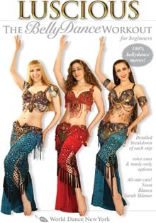 """Luscious: The Belly Dance Workout for Beginners"" DVD with Neon"