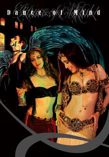 Dance of Mind... A Graphic  Novel / Photo Novel - Belly Dance / Gothic