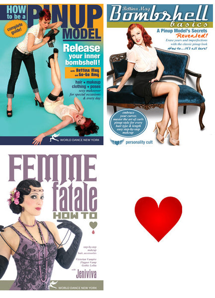 Alternative Modeling: Pinup, Vintage & Fantasy Streaming Video Bunch 1 Year Rental