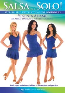 """Salsa... Solo! Salsa Dance for women"" DVD with Yesenia Adame"