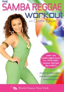 """The Samba Reggae Workout"" DVD with Quenia Ribeiro"