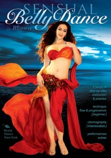 """Sensual Belly Dance for beginners, with Blanca"" DVD"