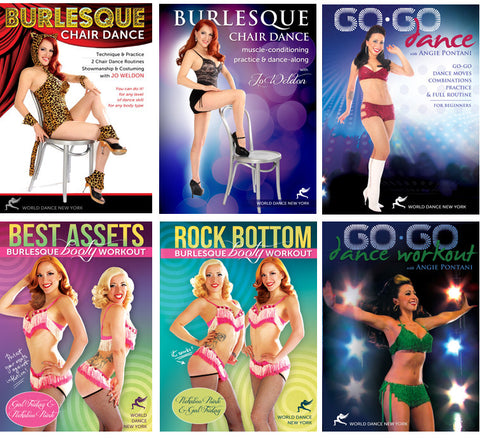 Sexy Fitness: Burlesque & Go-Go Dance Technique and Workouts Streaming Video Bunch 1 Year Rental