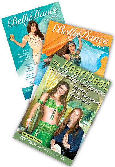 Belly Dance - Specialty Genres 3-DVD video set