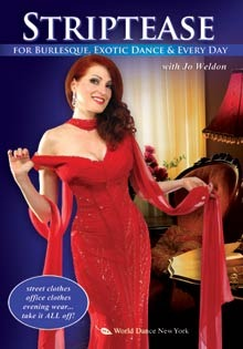 """Striptease for Burlesque, Exotic Dance & Every Day"" DVD with Jo Weldon"