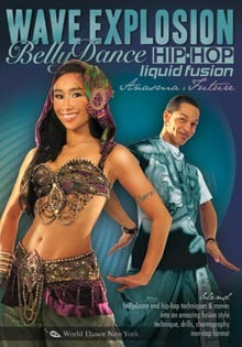 """Wave Explosion: Belly Dance - Hip-Hop Liquid Fusion with Anasma"" 2-DVDs"