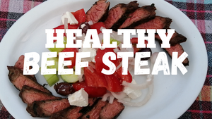 Healthy Beef Recipe: 3 Herbs Beef Steak