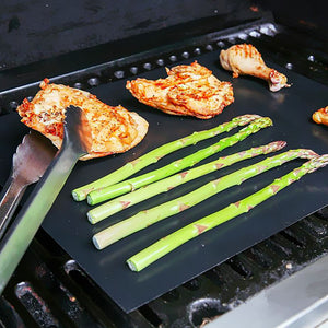 Heavy Duty Non Stick Reusable BBQ Grill Mat - Kitchendreamz-Top-Kitchen-tools-Kitchen-Gadgets