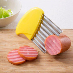 Curved French Fries Cutter - Kitchendreamz-Top-Kitchen-tools-Kitchen-Gadgets