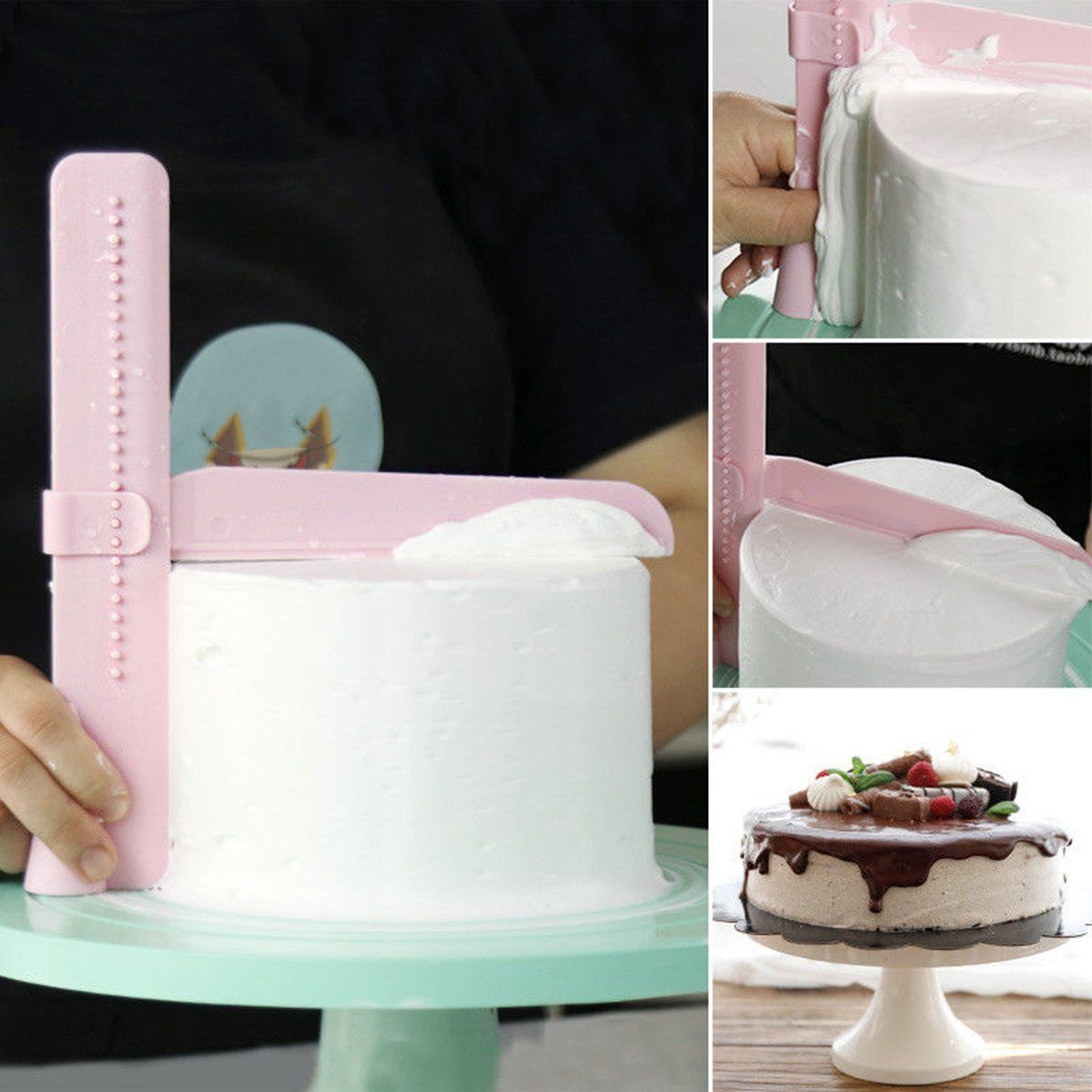 Cake Scraper - Kitchendreamz-Top-Kitchen-tools-Kitchen-Gadgets