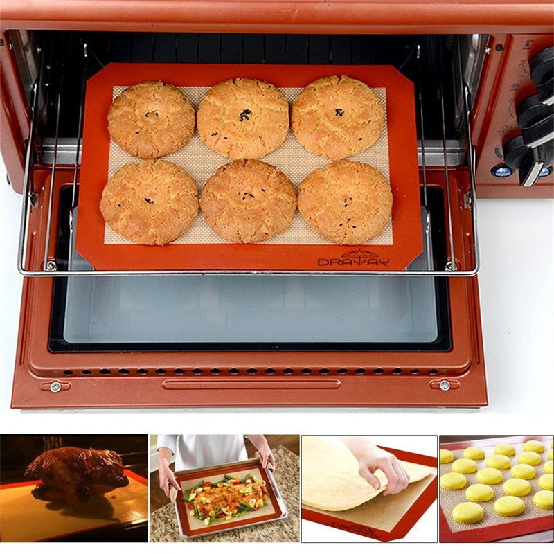 Non-Stick Silicone Baking Mat - Kitchendreamz-Top-Kitchen-tools-Kitchen-Gadgets