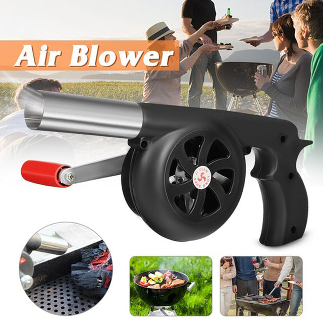 Hand Fan Starter Blower Barbecue Grill - Kitchendreamz-Top-Kitchen-tools-Kitchen-Gadgets